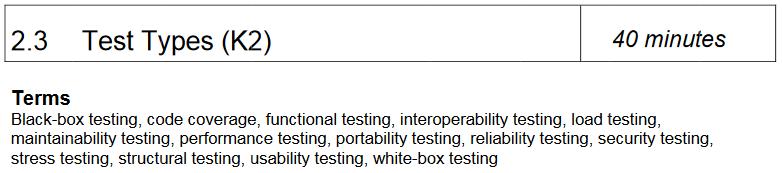 istqb-testtypes